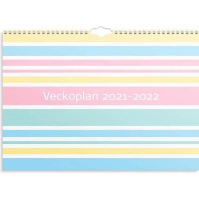 Veckoplan som följer skolåret 2021-2022