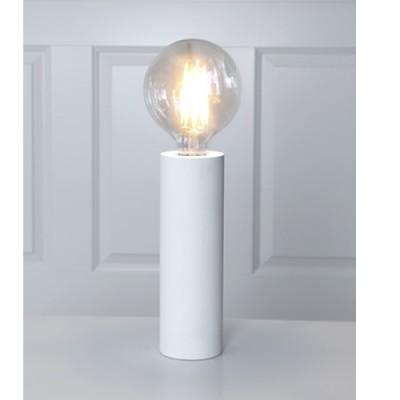 Star Trading Lampfot Vit Tub 25cm